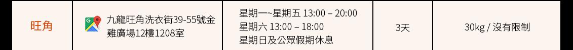 合作方自提點(旺角)_Shipgo國際集運