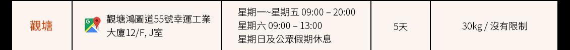 合作方自提點(觀塘)_Shipgo國際集運
